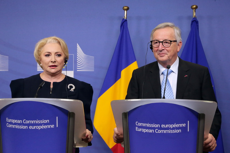 The joint meeting of the Romanian Government and the College of Commissioners