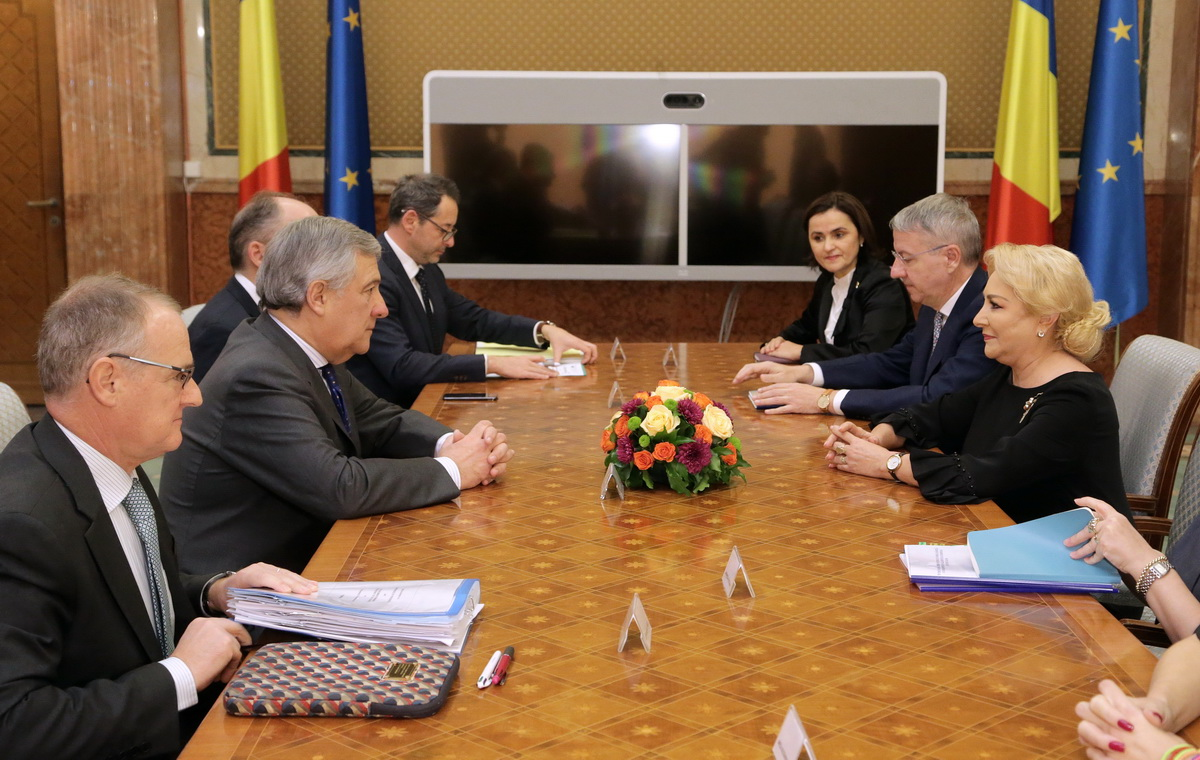 Meeting of the EP Conference of Presidents with the Romanian Government