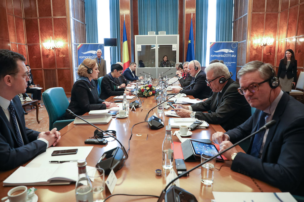 Visit of the College of Commissioners to Bucharest