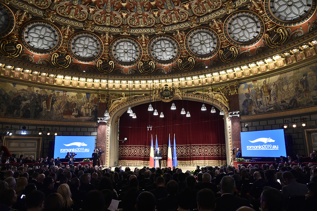 The official opening ceremony of the Romanian Presidency of the Council of the European Union