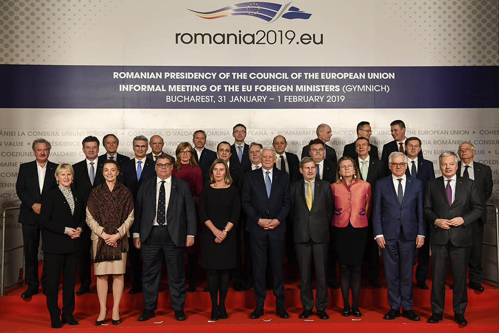 The Informal meeting of the EU foreign affairs ministers