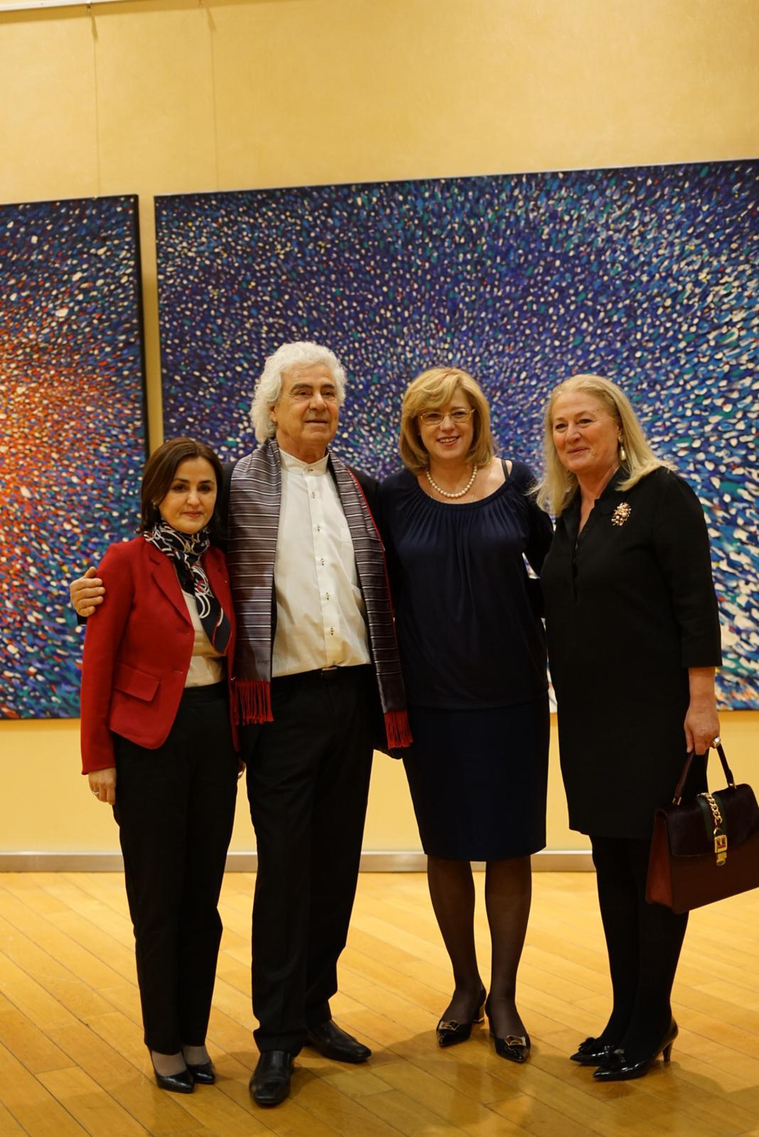 "Painting Exhibition –""… to the light!"" inaugurated by the Romanian Presidency of the Council of the EU in the Berlaymont building of the European Commission"