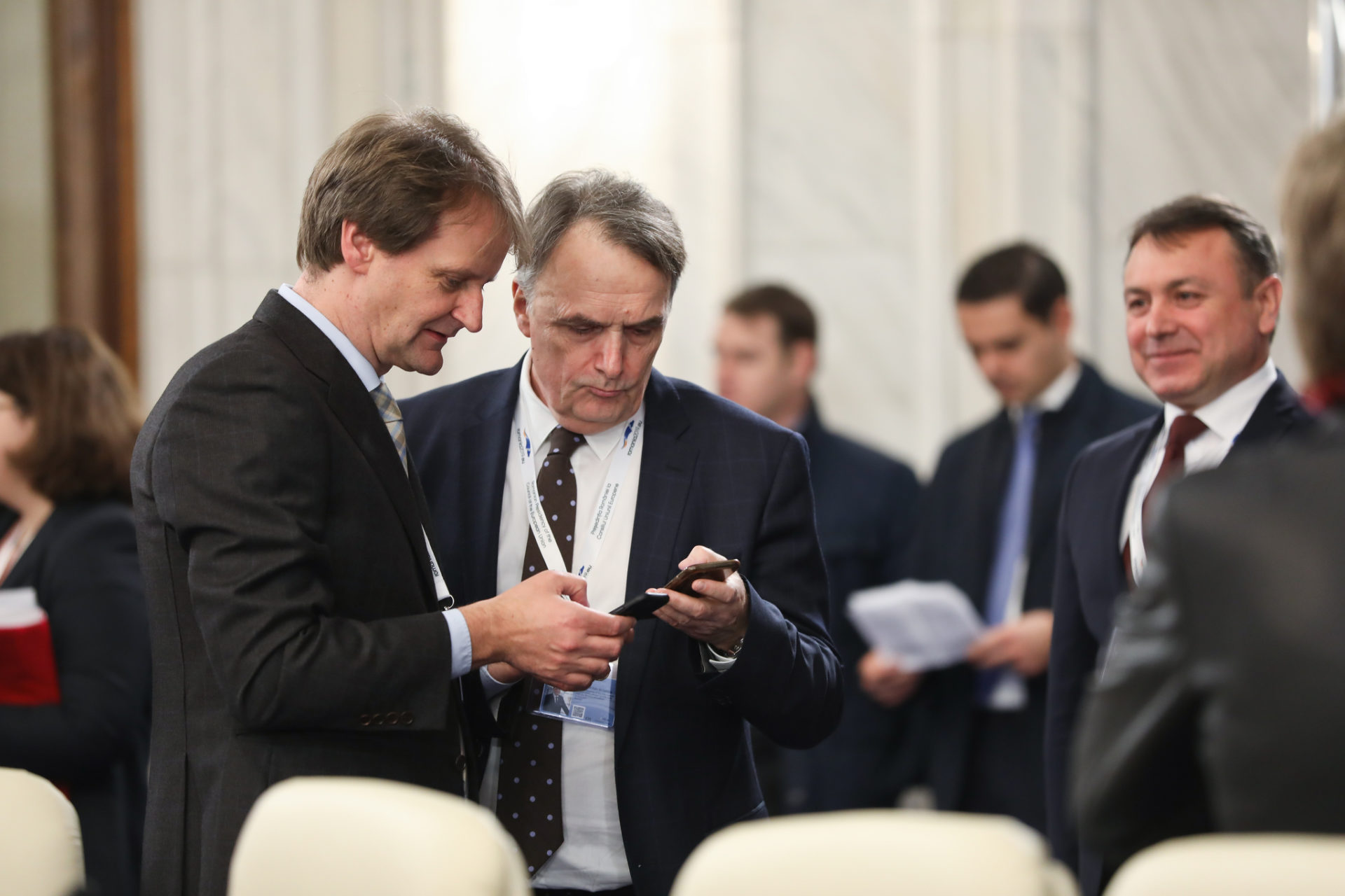 Informal meeting of Home Affairs ministers from the EU member states: arrivals and doorsteps