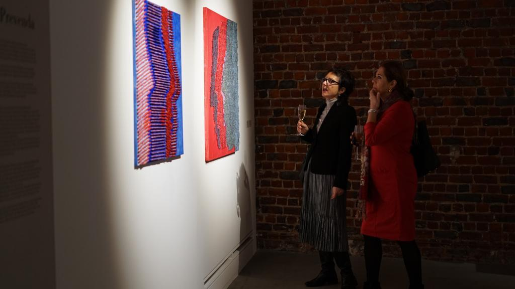 Romanian contemporary art exhibition at Hangar Gallery – Mircea Cantor and associated exhibitions: Florica Prevenda & Daniel Djamo