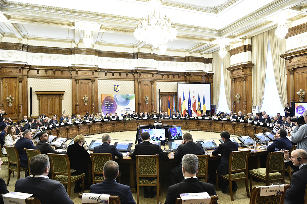 PHOTO 3rd Eastern Partnership (EaP) Ministerial Meeting on the Digital Economy
