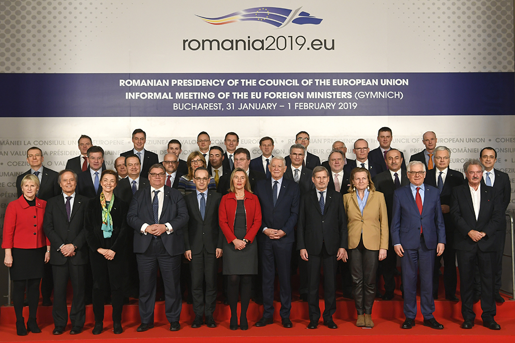 The Informal meeting of the EU foreign affairs ministers (second day)