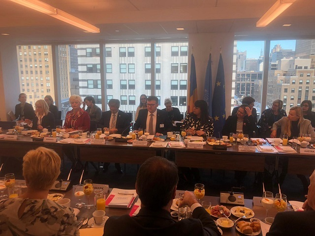 The Minister of Labour and Social Justice attended the 63rd session of the UN Commission on the Status of Women, in New York