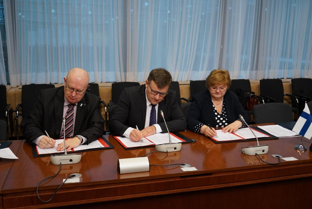 Romania, Finland and Croatia signed the Joint Trio Declaration on gender equality