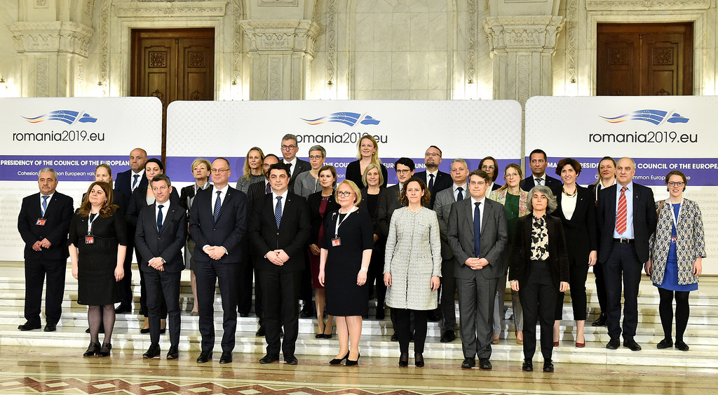 Informal meeting of the ministers of culture, Bucharest, 16th of April