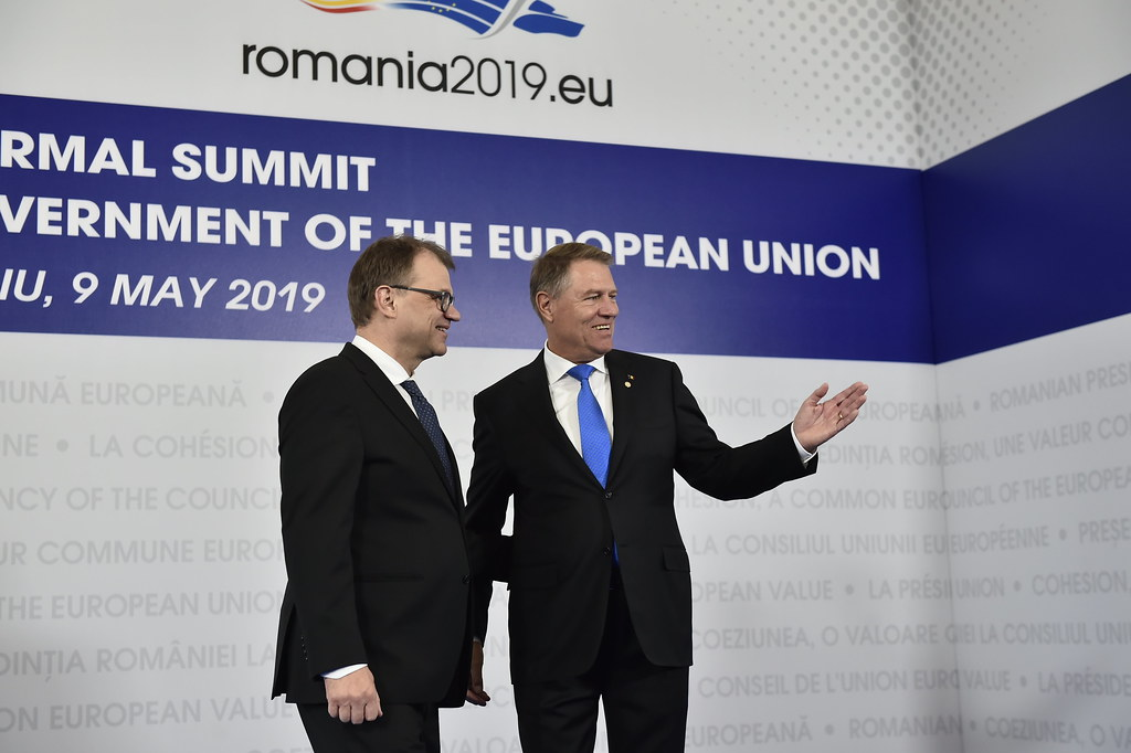 Sibiu Summit, arrivals and doorsteps