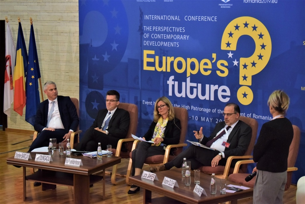International conference The perspectives of contemporary developments  – Europe's future