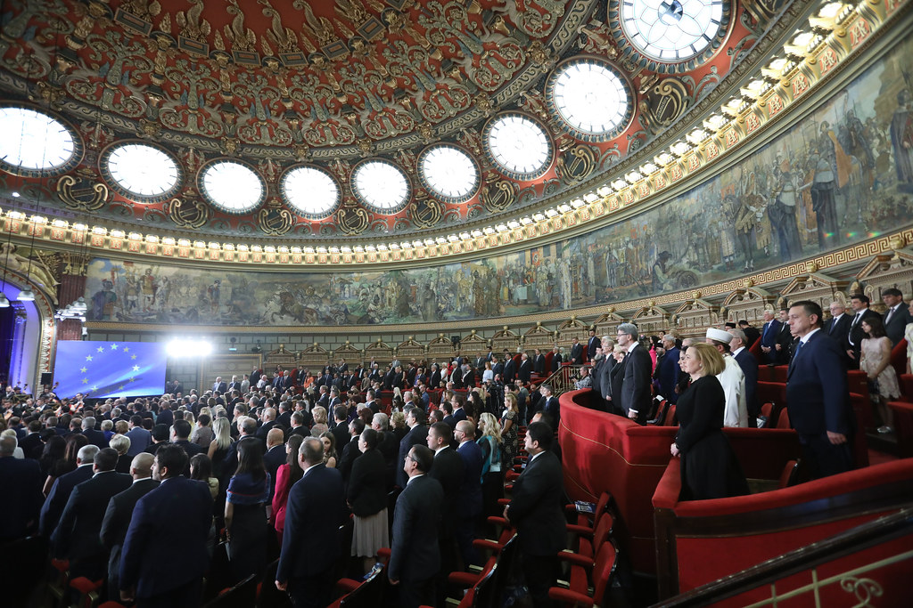 Extraordinary concert at the Romanian Athenaeum marking the end of the Romanian Presidency of the EU Council